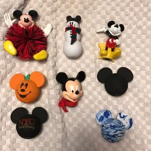 7 seasonal Mickey Mouse antennae toppers squishy